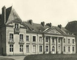 Façade Ouest au début du XXe siècle