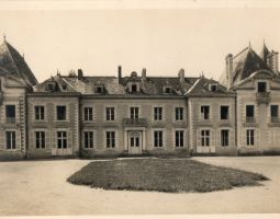 Façade Est au début du XXe siècle