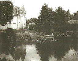 Le Château de la Droitière vers 1900