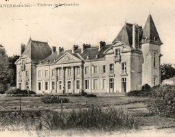 Le Château de la Droitière vu du Parc à la fin du XIXe siècle