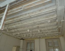 Plafond de la salle à manger.